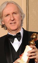 In foto James Cameron (66 anni) Dall'articolo: Golden Globes: Avatar continua a trionfare.
