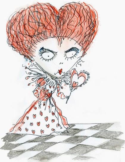 Le descrizioni dei personaggi di Underland -  Dall'articolo: Alice in Wonderland: i concept art e i character still.