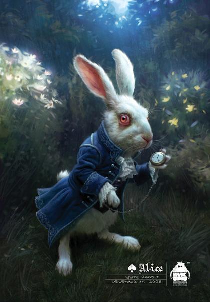 In foto Michael Sheen (50 anni) Dall'articolo: Alice in Wonderland: i concept art e i character still.