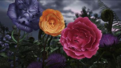 Fase tre dei fiori -  Dall'articolo: Alice in Wonderland: i concept art e i character still.