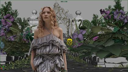 In foto Mia Wasikowska (32 anni) Dall'articolo: Alice in Wonderland: i concept art e i character still.
