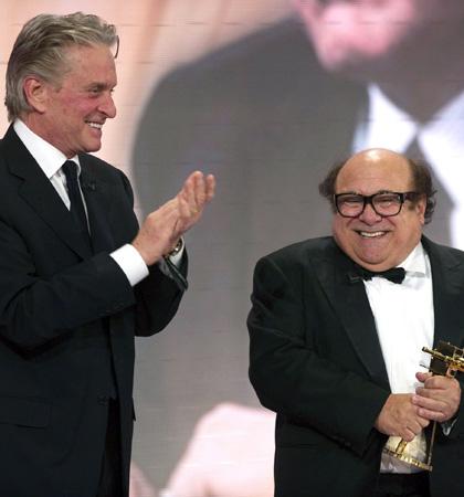 Golden Camera Awards 2010: le foto - Michael Douglas e Danny DeVito
