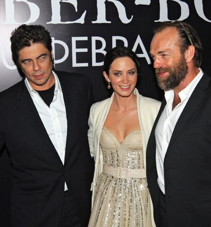In foto Benicio Del Toro (53 anni) Dall'articolo: Wolfman: premiere a Mosca.