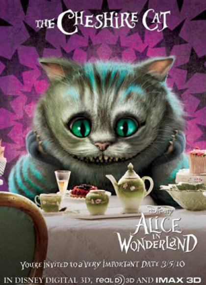 In foto Stephen Fry (64 anni) Dall'articolo: Alice in Wonderland: il poster dello Stregatto e del Bianconiglio.