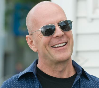 In foto Bruce Willis (64 anni) Dall'articolo: Cop Out: una valanga di immagini e tre spot televisivi.