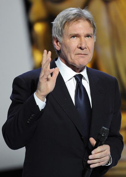 Il Profeta trionfa ai César - Harrison Ford
