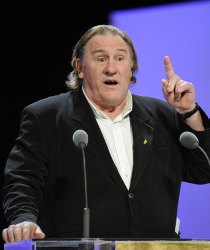 Il Profeta trionfa ai César - Gérard Depardieu