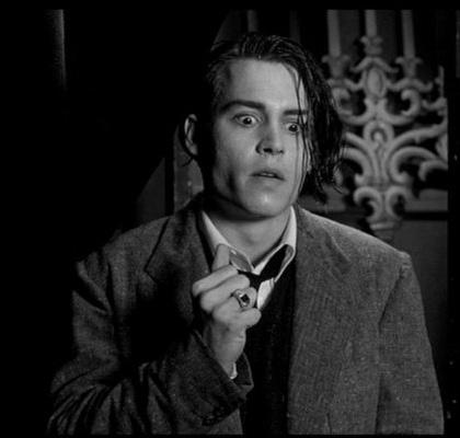 In foto Johnny Depp (57 anni) Dall'articolo: 5x1: Tim Burton, il diabolico artista.