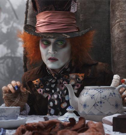 In foto Johnny Depp (56 anni) Dall'articolo: Film nelle sale: la Revanche di Alice in Wonderland.