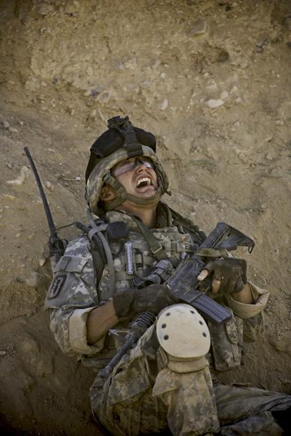 In foto Jeremy Renner (50 anni) Dall'articolo: The Hurt Locker: Oscar