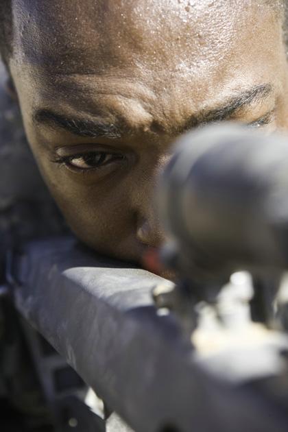 In foto Anthony Mackie (43 anni) Dall'articolo: The Hurt Locker: Oscar
