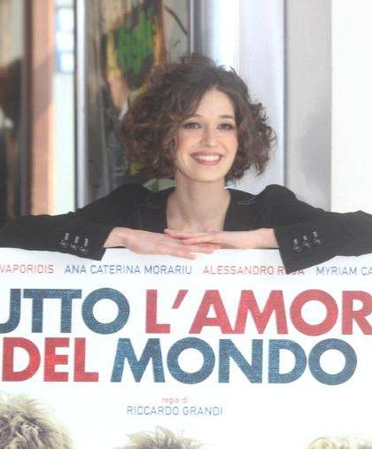In foto Ana Caterina Morariu (39 anni) Dall'articolo: Tutto l'amore del mondo: sì viaggiare.
