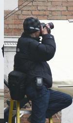 Il direttore della fotografia al lavoro -  Dall'articolo: The Tourist: le riprese di Depp inseguito in Campo della Pescheria.