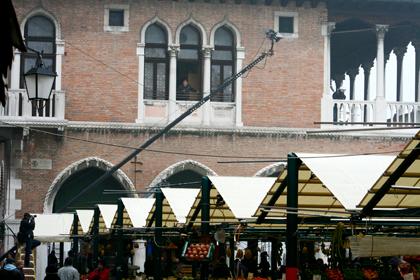 Il campo della Pescheria -  Dall'articolo: The Tourist: le riprese di Depp inseguito in Campo della Pescheria.