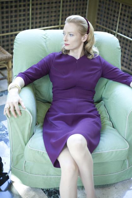 In foto Tilda Swinton (61 anni) Dall'articolo: Io sono l'amore di Guadagnino con Tilda Swinton.