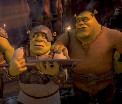 Shrek si unisce alla resistenza -  Dall'articolo: Shrek e vissero felici e contenti: il 2° trailer in italiano.