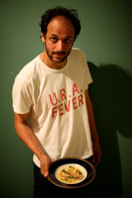 In foto Luca Guadagnino (50 anni) Dall'articolo: Io sono l'amore: come si cucina un buon film.