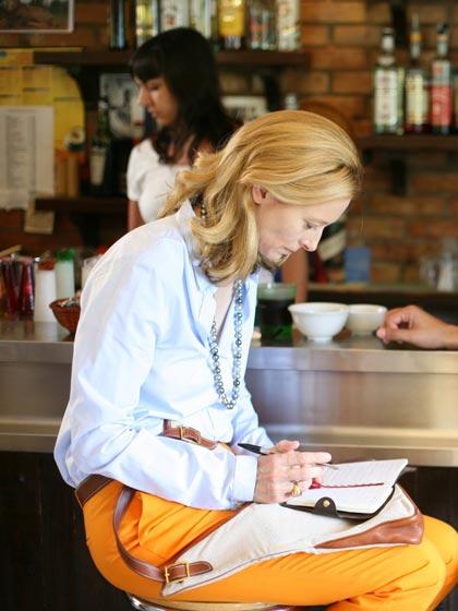 In foto Tilda Swinton (61 anni) Dall'articolo: Io sono l'amore: come si cucina un buon film.