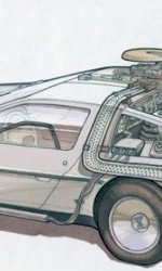 I concept art inediti del film -  Dall'articolo: Ritorno al futuro parte II: concept art della Delorean e dell'Hoverboard.