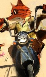Quando l'istinto animale prende il sopravvento -  Dall'articolo: Fantastic Mr. Fox: i concept art di Chris Appelhans.