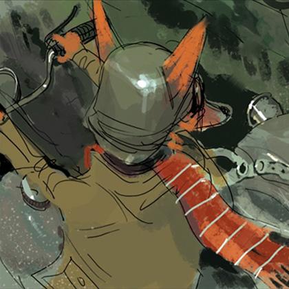 Mr. Fox -  Dall'articolo: Fantastic Mr. Fox: i concept art di Chris Appelhans.