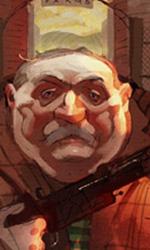 Boggis -  Dall'articolo: Fantastic Mr. Fox: i concept art di Chris Appelhans.