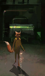 Mr Fox -  Dall'articolo: Fantastic Mr. Fox: i concept art di Chris Appelhans.