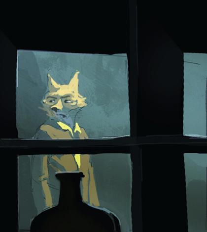 Mr Fox -  Dall'articolo: Fantastic Mr. Fox: i concept art di Chris Appelhans.