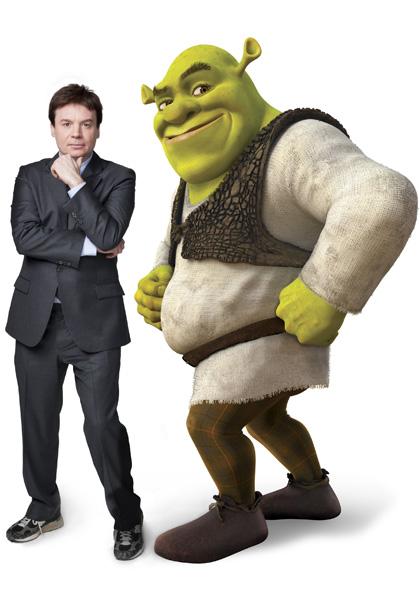 In foto Mike Myers (57 anni) Dall'articolo: Shrek e vissero felici e contenti: la clip 'Gatto cosa ti è successo?'.