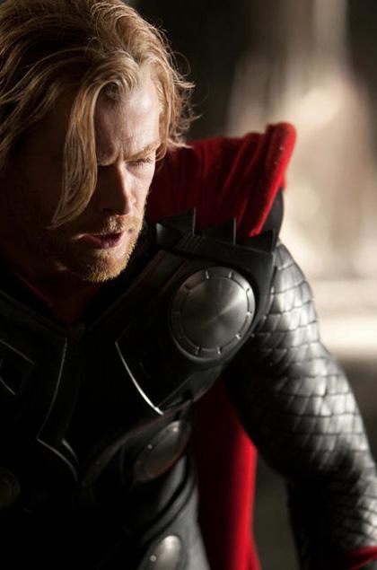 In foto Chris Hemsworth (35 anni) Dall'articolo: Thor: prima foto ufficiale di Chris Hemsworth.