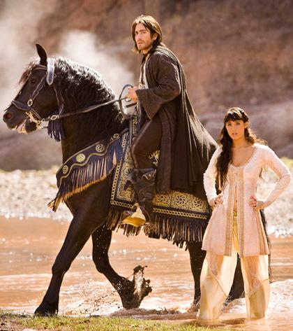 In foto Gemma Arterton (32 anni) Dall'articolo: Prince of Persia - Le sabbie del tempo: 4 backstage in italiano.