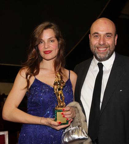 In foto Micaela Ramazzotti (41 anni) Dall'articolo: David di Donatello 2010: L'uomo che verrà miglior film.