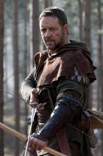 In foto Russell Crowe (57 anni) Dall'articolo: Robin Hood: oltre 40 foto ufficiali e 2 clip in italiano.