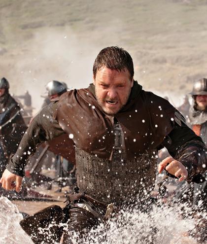 In foto Russell Crowe (55 anni) Dall'articolo: Robin Hood: oltre 40 foto ufficiali e 2 clip in italiano.