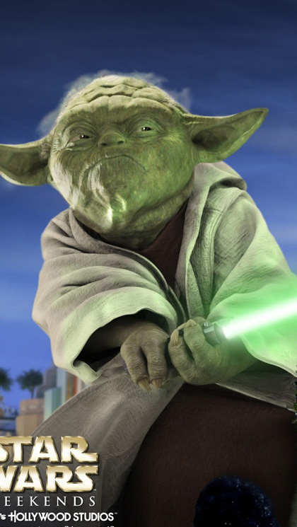 Yoda -  Dall'articolo: Star Wars Weekends 2010: i wallpaper pubblicitari.