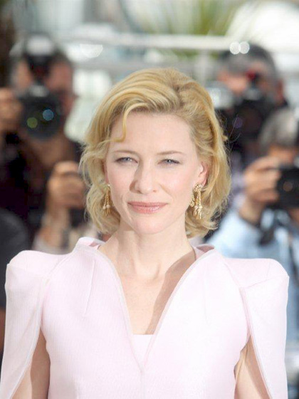 In foto Cate Blanchett (50 anni) Dall'articolo: Robin Hood: il photocall.