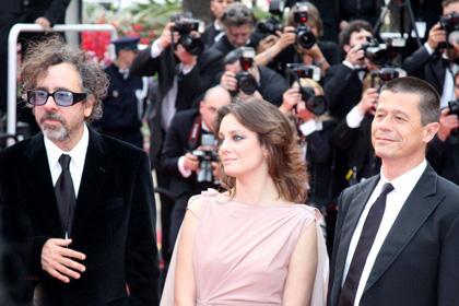 Robin Hood: il red carpet - Tim Burton, Giovanna Mezzogiorno e Emmanuel Carrère