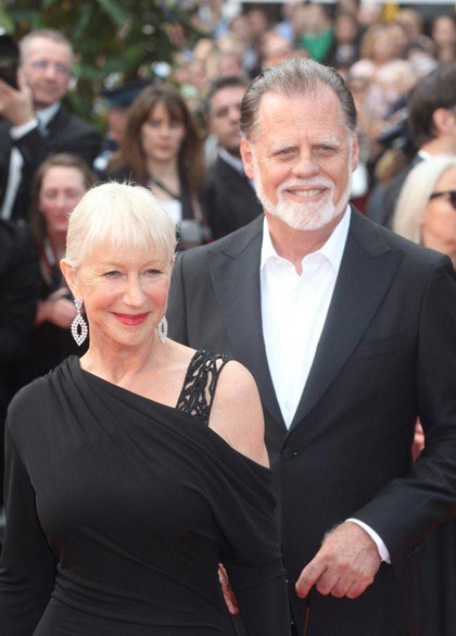 Robin Hood: il red carpet - Helen Mirren e Taylor Hackford
