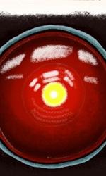 2001: Odissea nello spazio -  Dall'articolo: Movies R Fun: le illustrazioni di Terminator, Seven ed altri film R.