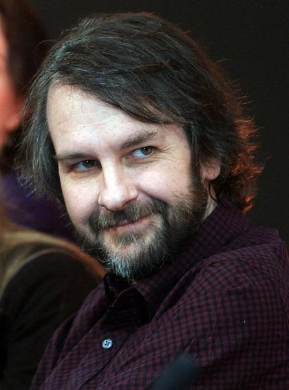 In foto Peter Jackson (59 anni) Dall'articolo: The Hobbit: Guillermo del Toro lascia la regia.