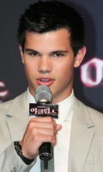 In foto Taylor Lautner (28 anni) Dall'articolo: The Twilight Saga: Eclipse: premiere a Seoul.