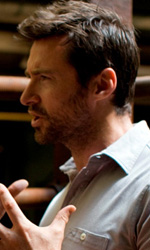 Real Steel: prime foto di Hugh Jackman nel film di Levy - Hugh Jackman sul set