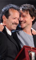In foto Rocco Papaleo (62 anni) Dall'articolo: Nastri d'Argento 2010: vincono Virzì e Ozpetek.