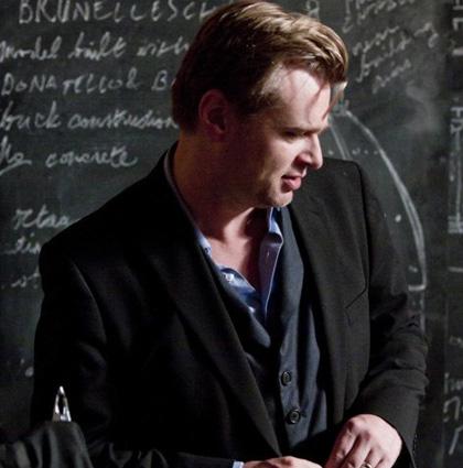In foto Christopher Nolan (49 anni) Dall'articolo: Inception: i sogni nei sogni sono troppo instabili.