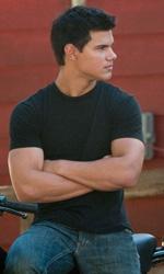 In foto Taylor Lautner (28 anni) Dall'articolo: Eclipse: ultime foto e la clip