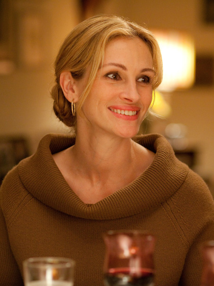 In foto Julia Roberts (51 anni) Dall'articolo: Mangia, prega, ama: voglio meravigliarmi di qualcosa.