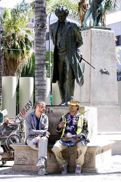 In foto Robert Downey Jr. (54 anni) Dall'articolo: Il solista: la malattia del genio.