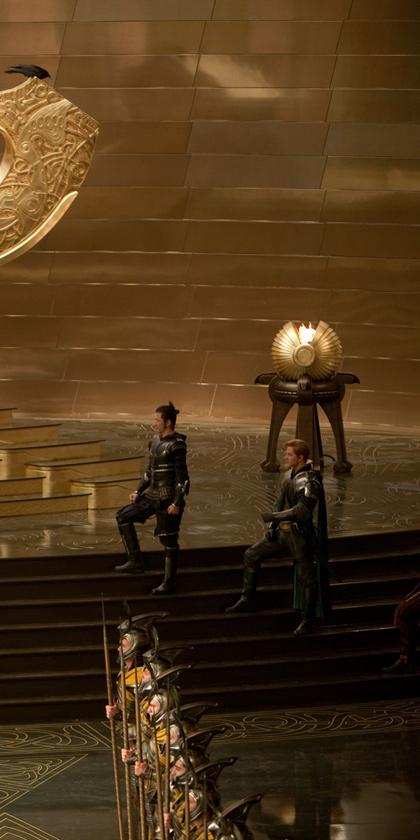 In foto Tadanobu Asano (45 anni) Dall'articolo: Thor: Frigga, Hogun e Fandral nella sala del trono di Asgard.