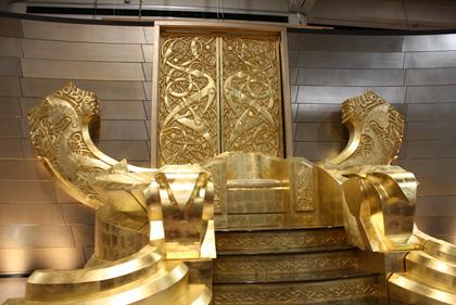 Il trono di Odino -  Dall'articolo: Comic-Con 2010: Thor, le foto del trono di Odino.