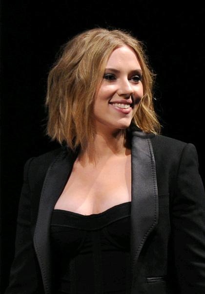 In foto Scarlett Johansson (37 anni) Dall'articolo: Comic-Con 2010: The Avengers, presentato il cast.